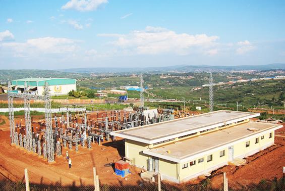 ルワンダ共和国変電所