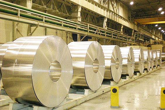 鉄鋼関係の様子